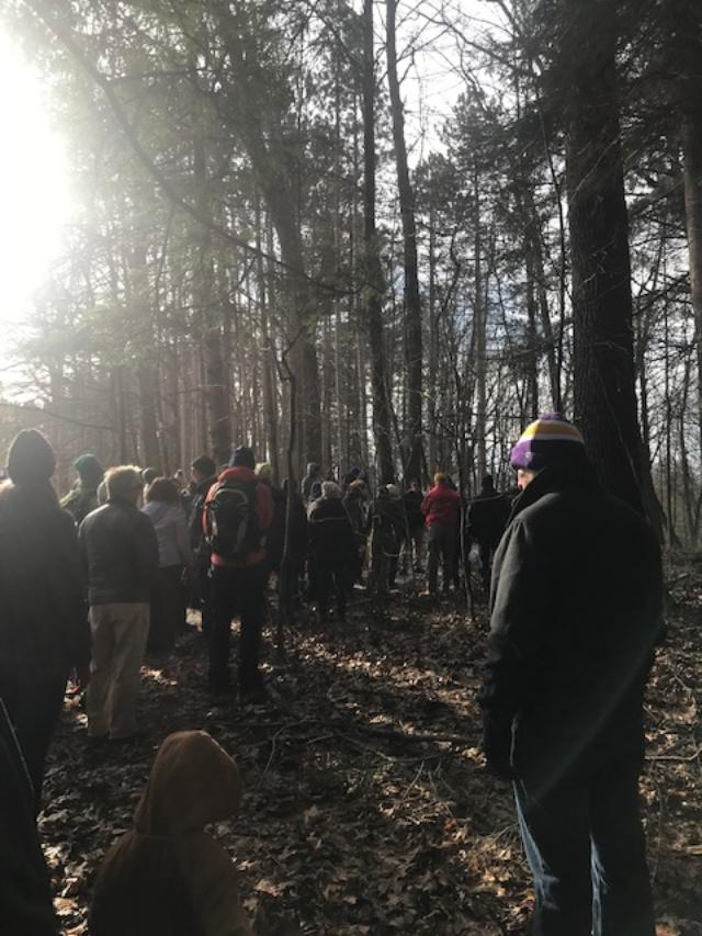 1st Day Hike Saratoga Spa State Park 2020